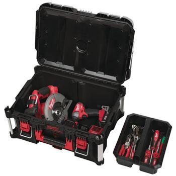 Velik kovček za orodje PACKOUT modularnost sistema
