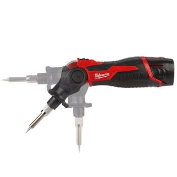 Nastavitev glave akumulatorskega spajkalnika