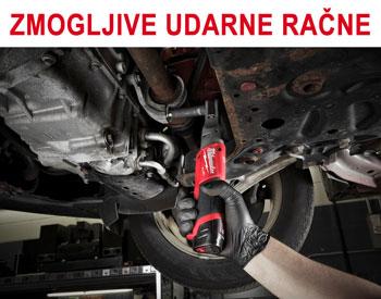 Zmogljivo orodje za avtomehanike udarna račna